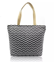 Load image into Gallery viewer, Tote Bag - Black/White