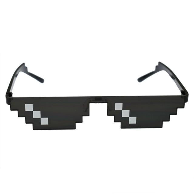 "Sketcherz ""8 Bit""  Pixelated Sunglasses 