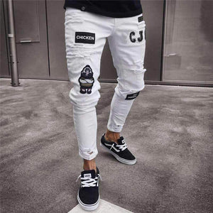 "Sketcherz ""CJ Gothic"" Ripped Jeans 