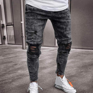 "Sketcherz ""VHS"" Ripped Jeans 