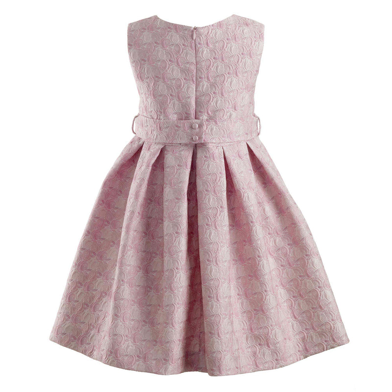 Pale Pink Rose Damask Dress