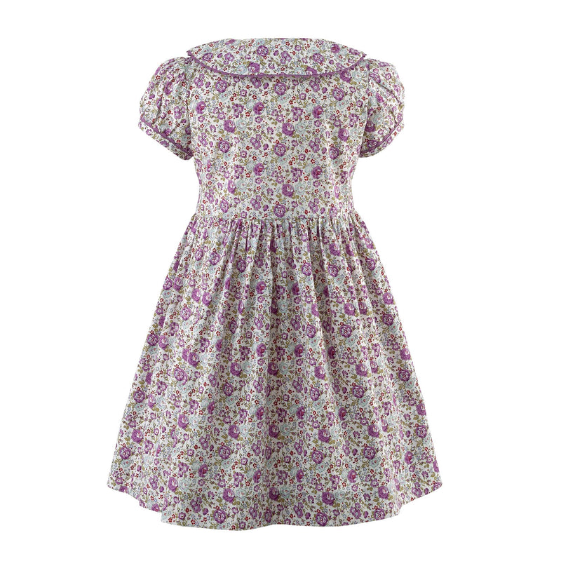 Floral Button-Front Dress