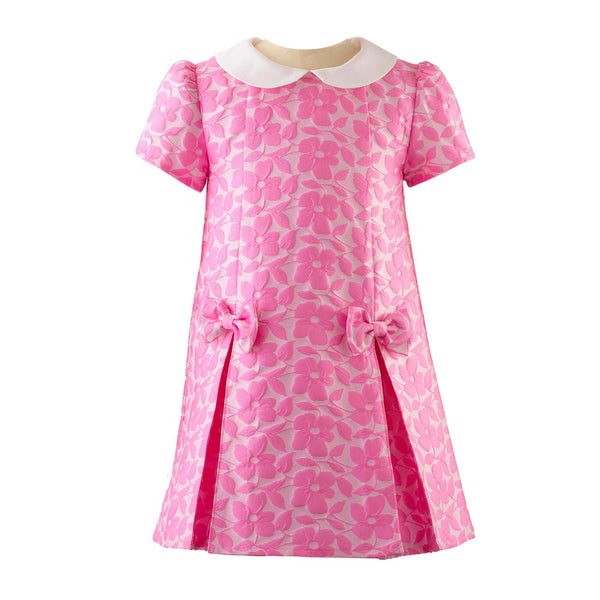 Flower Damask Shift Dress