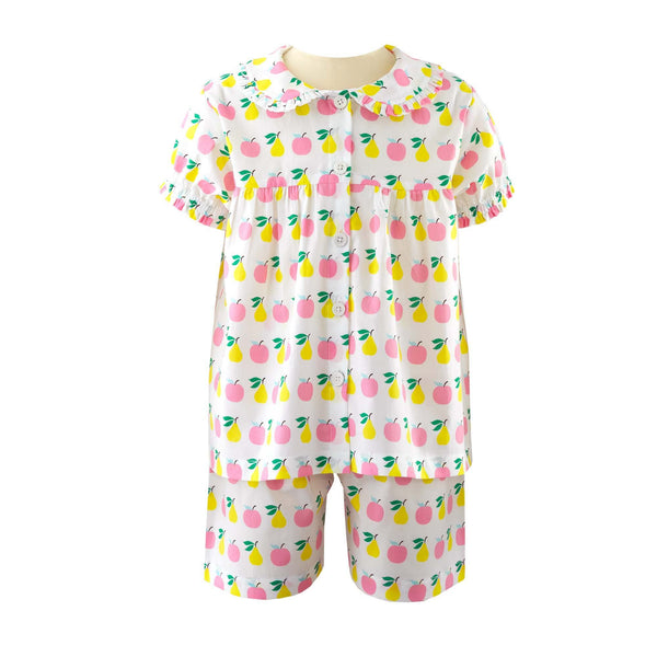 Apple and Pear Babydoll Short Pyjamas