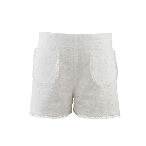 Heart Broderie Shorts