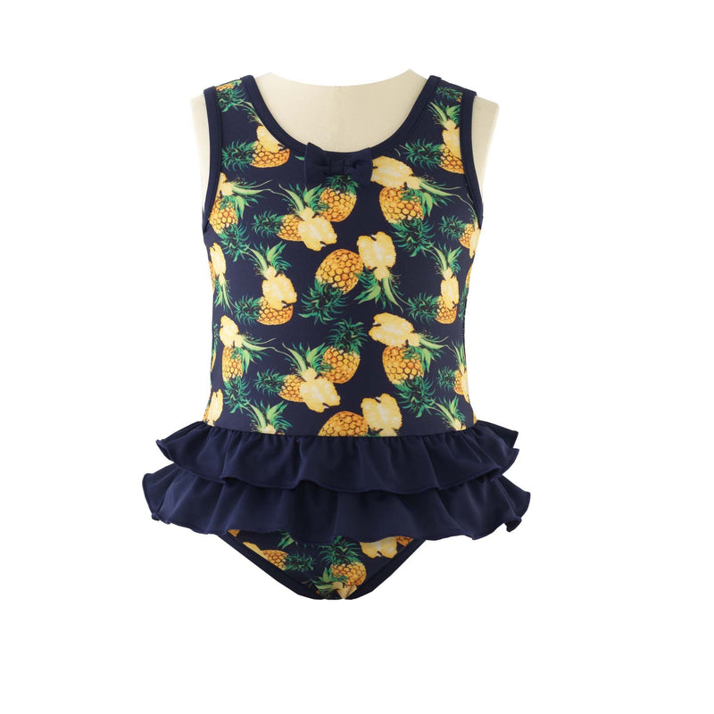 Pineapple Bow Swimsuit