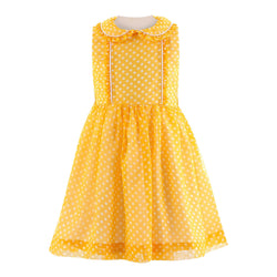 Polka Dot Frill Dress