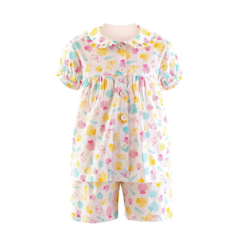 Seashell Babydoll Short Pyjamas