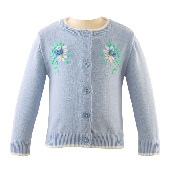 Posy Embroidered Cardigan