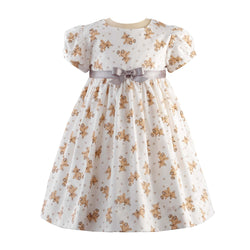 Teddy Party Dress & Bloomer