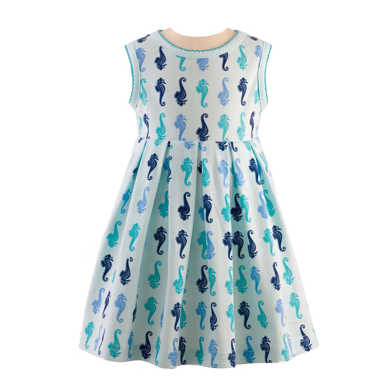 Seahorse Jersey Dress