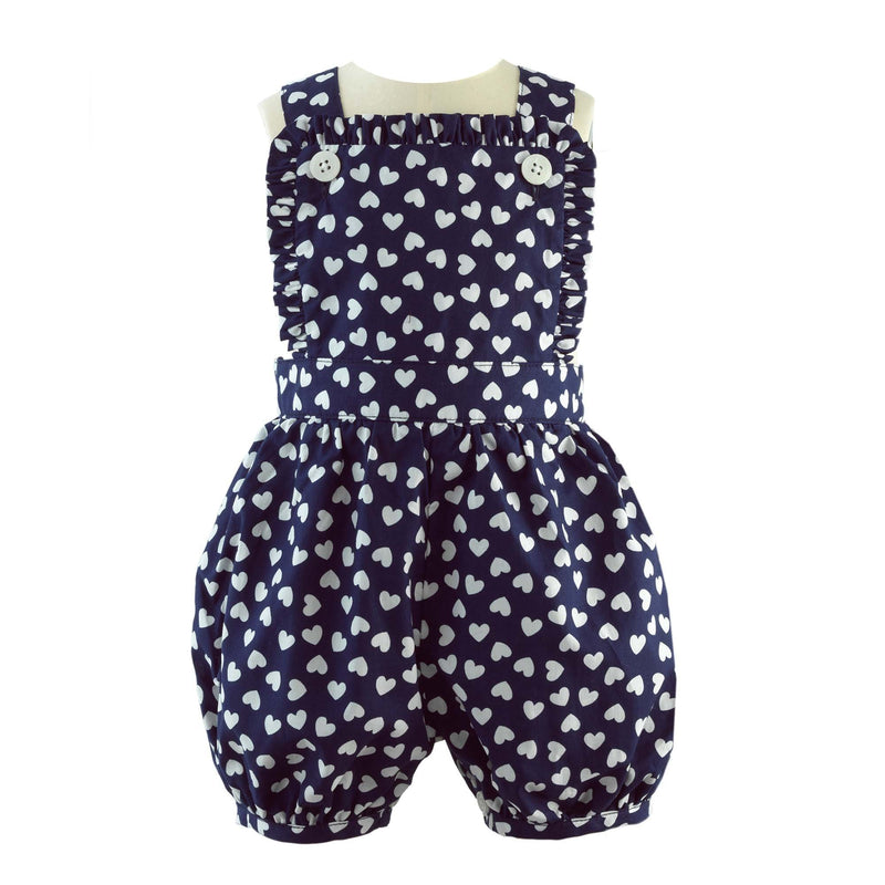 Heart Frill Dungaree