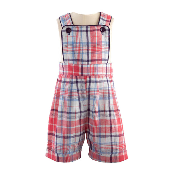 Checked Dungaree