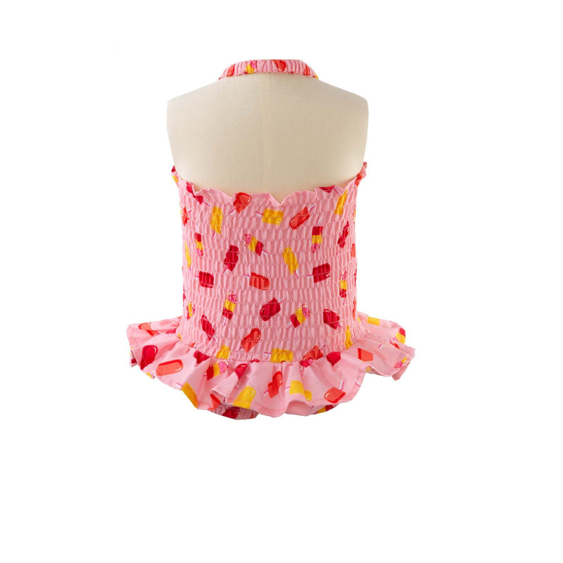 Ice Lolly Ruched Swimsuit