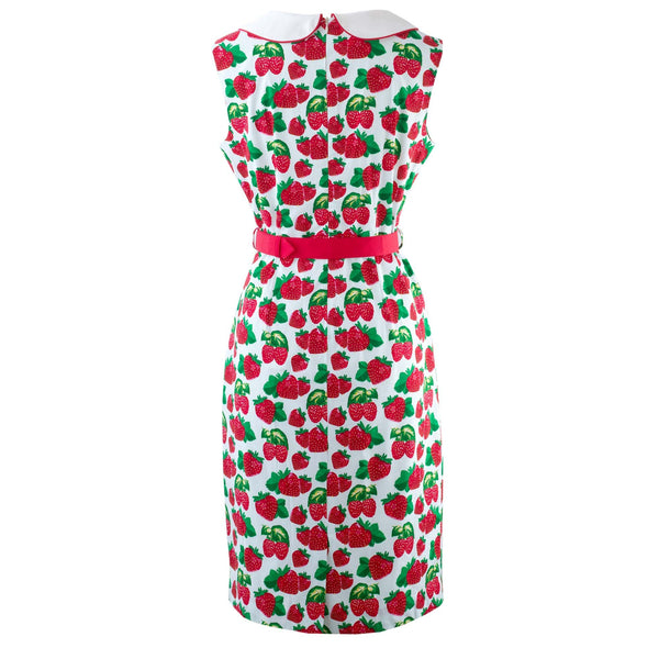 Strawberry Pencil Dress