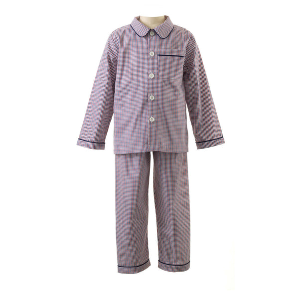 Tattersall Check Long Pyjamas