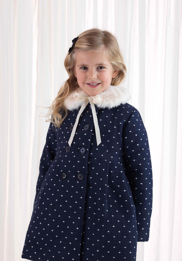 Polka Dot Skating Coat
