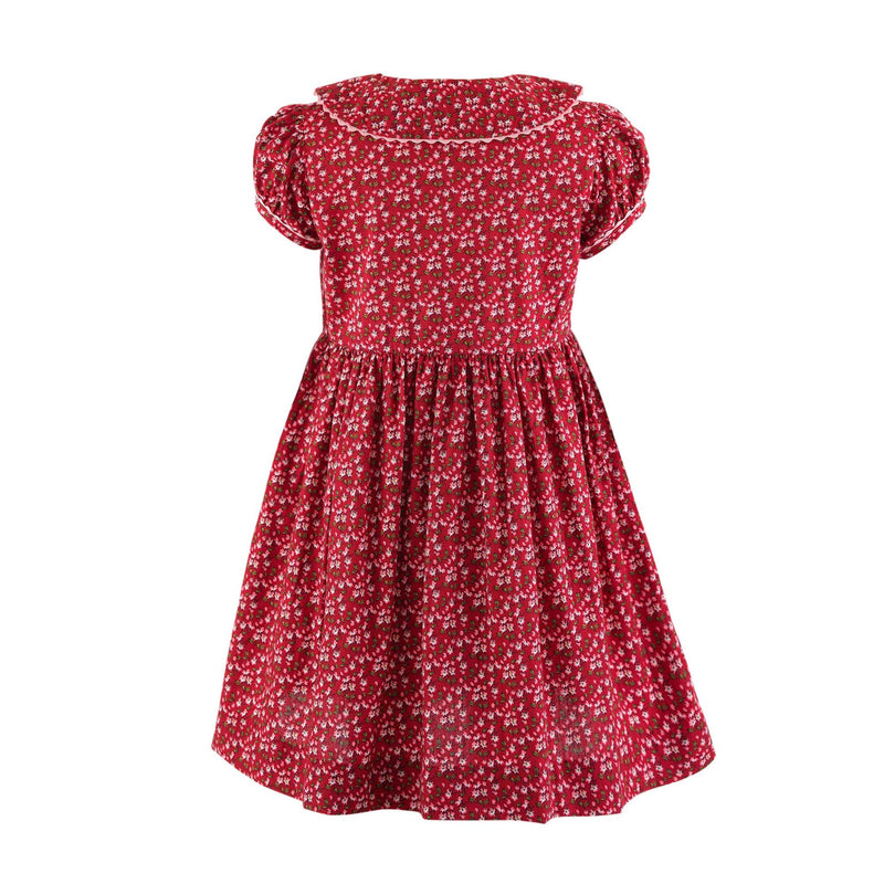 Ditsy Floral Button-front Dress