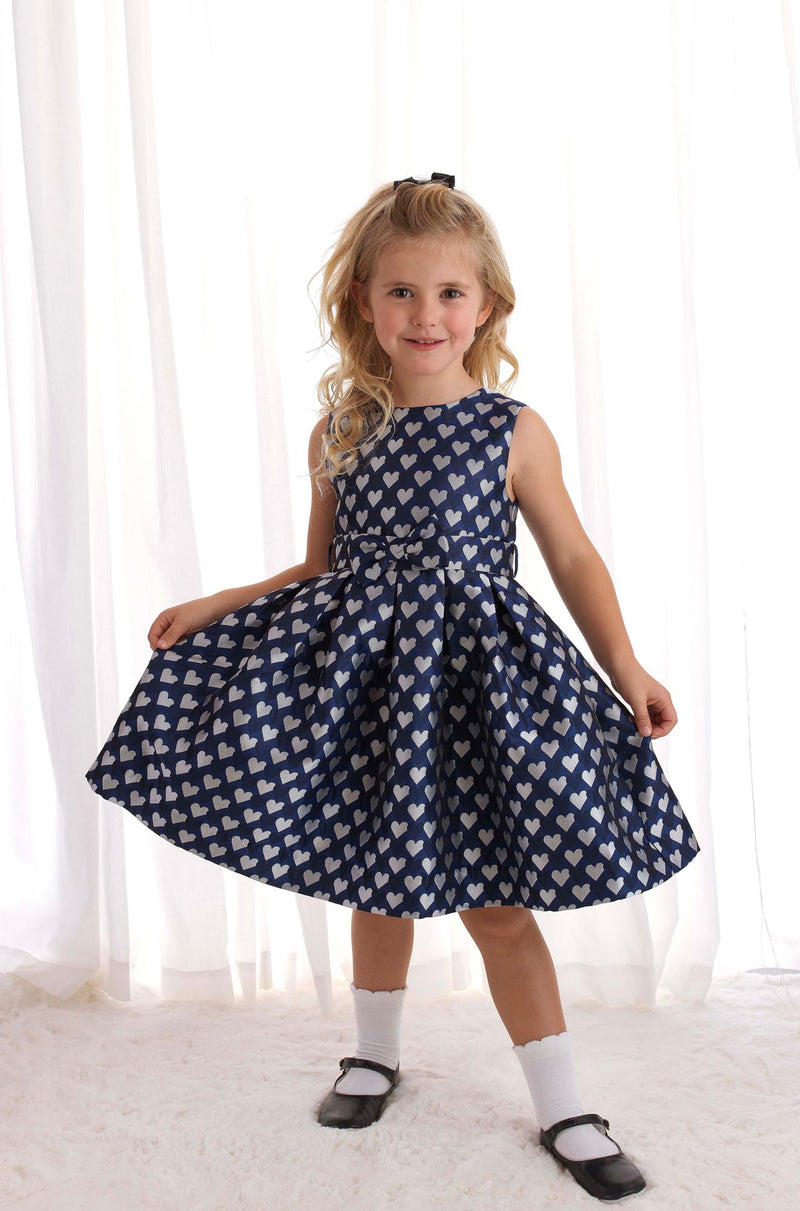Heart Damask Party Dress