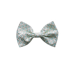 Diamond Damask Maxi Bow Hair Clip