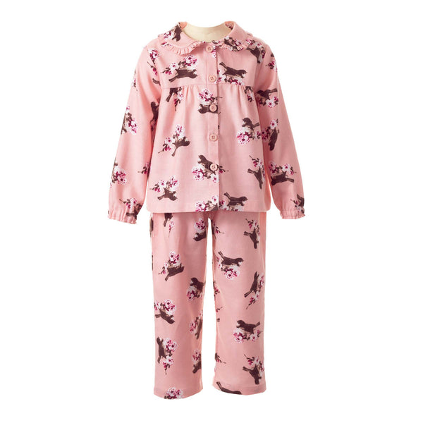 Bird Flannel Pyjamas