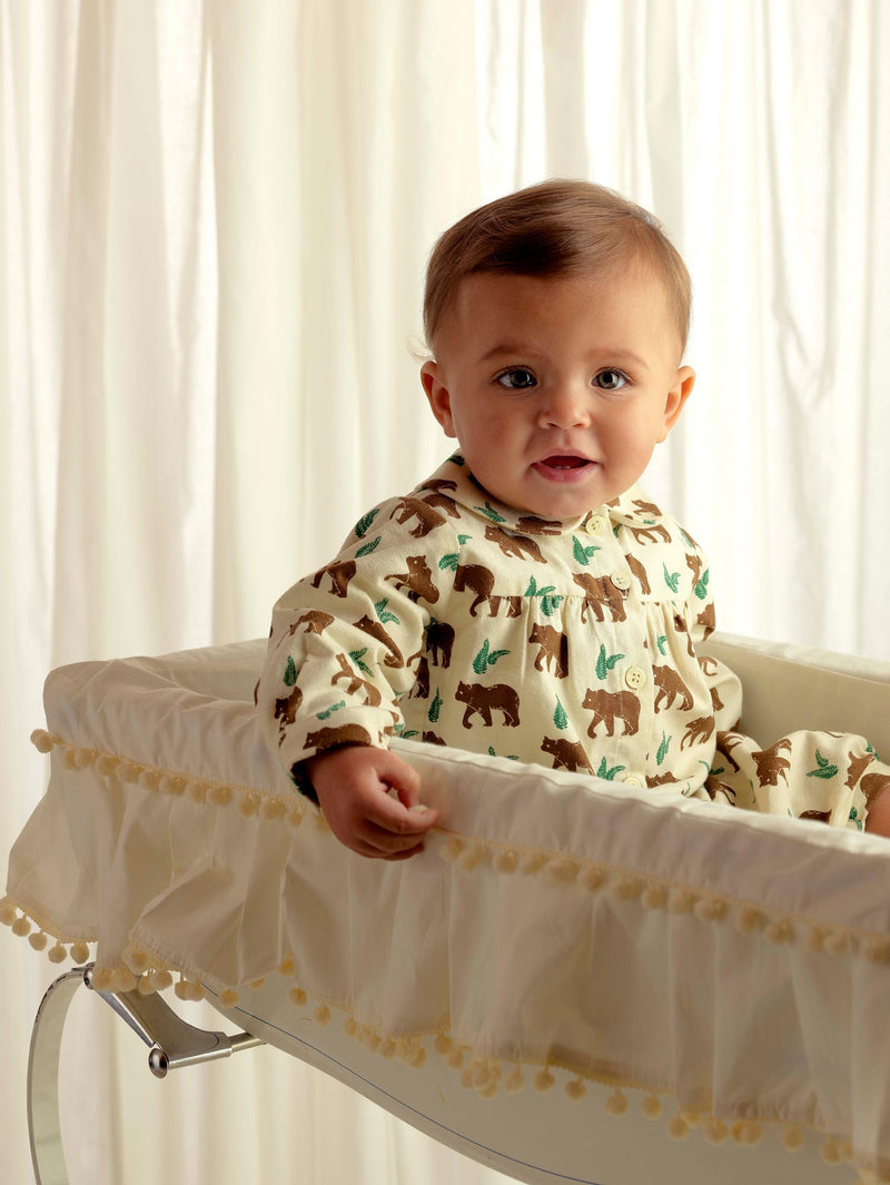 Brown Bear Babysuit