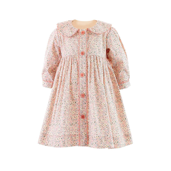 Daisy Button-front Dress & Bloomers