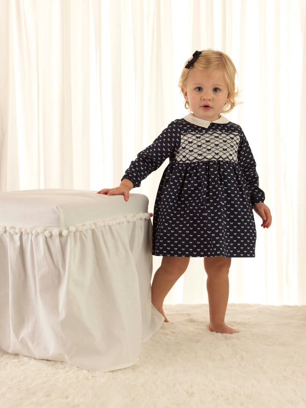 Bow Smocked Dress & Bloomers