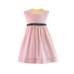 Pin Dot Babycord Pinafore