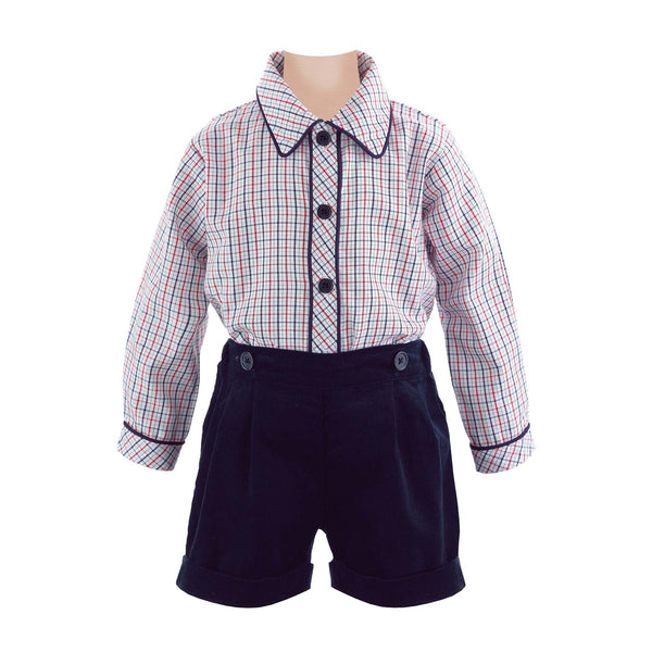 Tattersall Shirt & Short Set