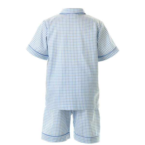 Checked Short Pyjamas