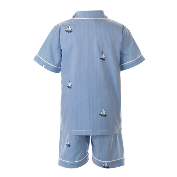 Sailboat Short Pyjamas
