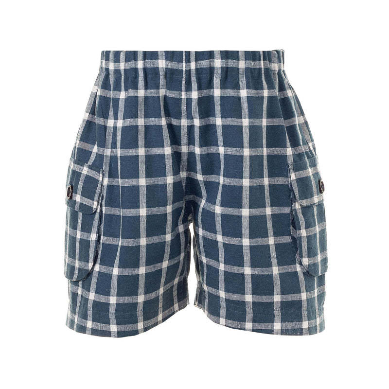 Checked Pocket Shorts