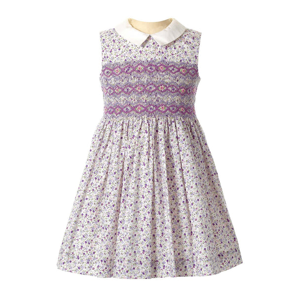 Ditsy Floral Smocked Dress
