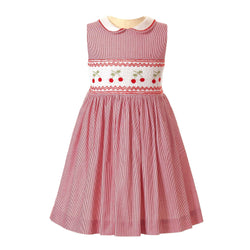 Cherry Smocked Dress