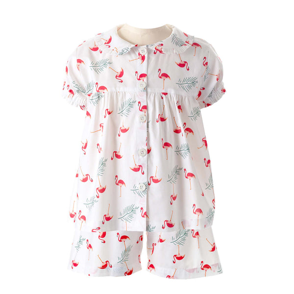 Flamingo Babydoll Short Pyjamas