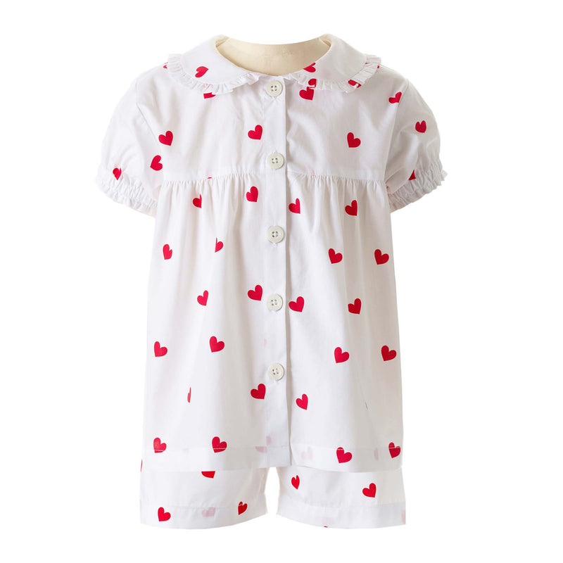 Heart Babydoll Short Pyjamas