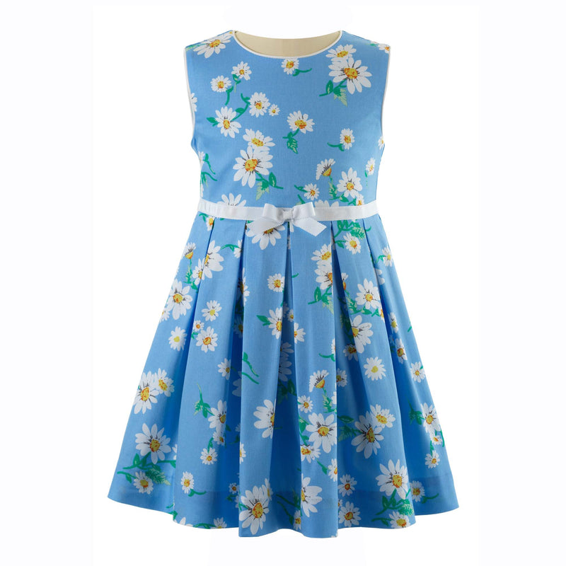 Daisy Sleeveless Pleated Dress