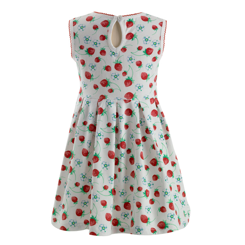 Strawberry Jersey Dress