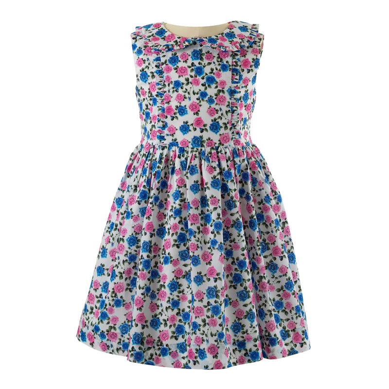 Rose Frill Dress