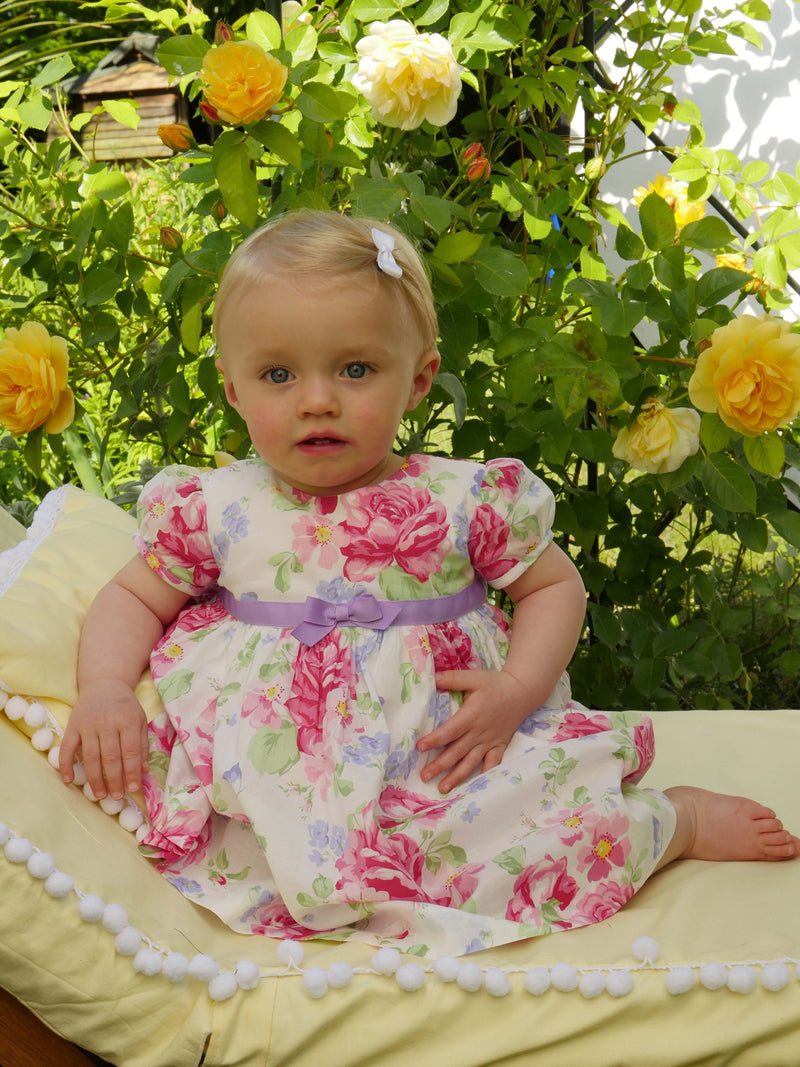 English Rose Dress & Bloomers
