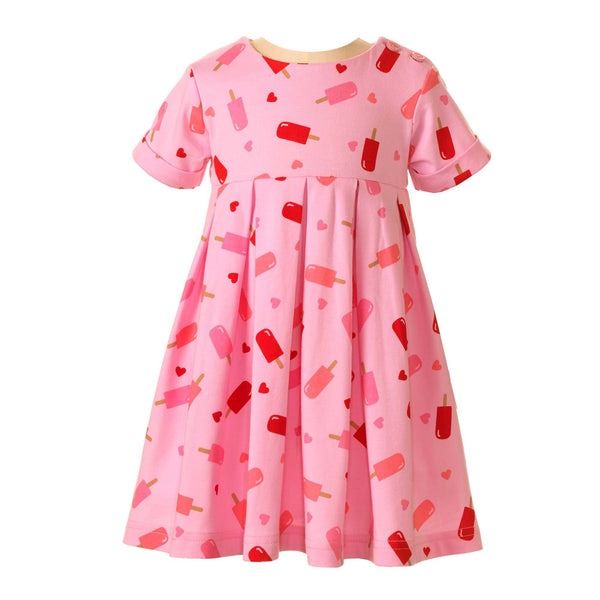 ice lolly jersey dress, ice lolly, ice cream, jersey dress, Rachel Riley jersey dress, casual dress