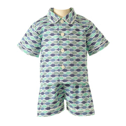 Fish Short Pyjamas