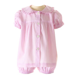 Striped Babydoll Short Pyjamas