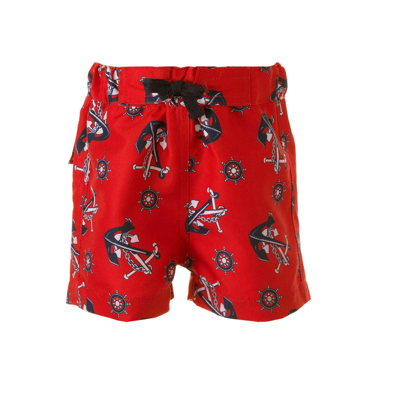 anchor swimshorts, baby boys swimshorts, Rachel Riley swimwear, anchor print