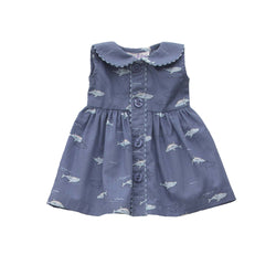 Dolly Shark Button-front Dress
