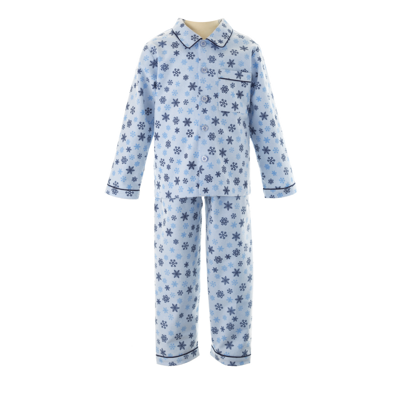 Snowflake Brushed Cotton Pyjamas