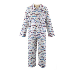 Racing Car Flannel Pyjamas