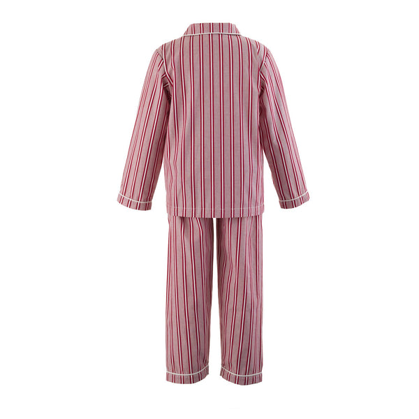 Striped Pyjamas Red