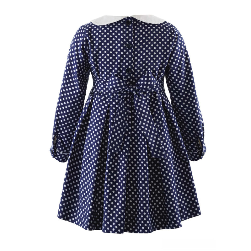 Polka Dot Flannel Dress